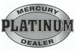 Mercury Dealer Platinum Award.